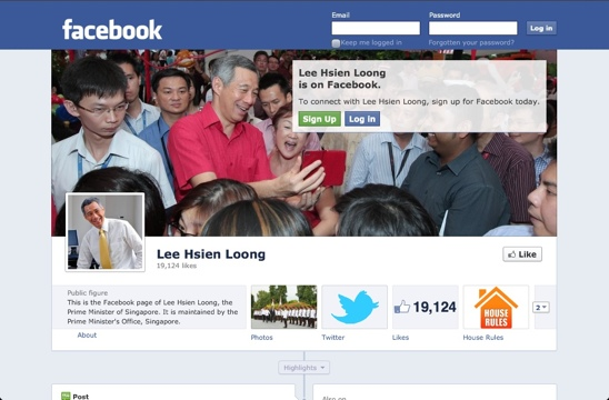 Prime Minister Lee Hsien Loong on Facebook & Twitter (1/3)